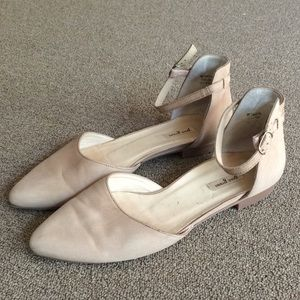 Paul Green flats nude Henley Ankle Strap